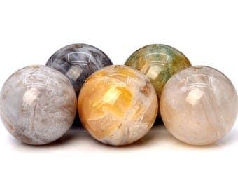 67 / 32 Pcs - 6MM Bamboo Agate Beads Grade AA Round Genuine Natural Gemstone Loose Beads (100159-261)