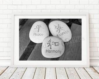 Peace Courage Harmony
