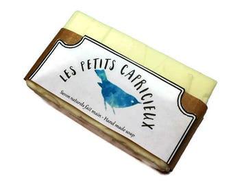 Soap 72% olive oil, palm oil free, fragrance free, for sensitive skin, vegan