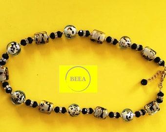 BEEA Lampwork Beads Necklace