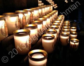 Notre Dame Candles - Digital Download