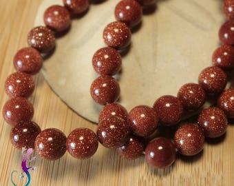 25 beads in 8mm sandstone