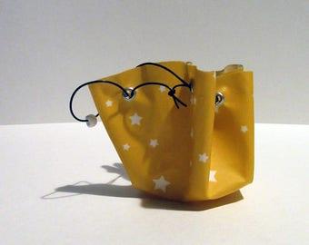 Little yellow stars purse