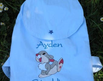 Backpack personalized with custom embroidery