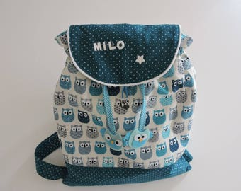 Personalized backpack for small children