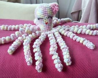 Octopus amigurumi plushie