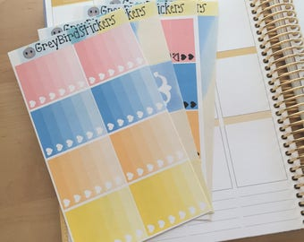 Beach Day Regular Weekly Kit for Erin Condren Life Planners and Happy Planners
