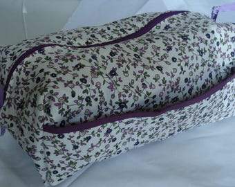 """KIT COLLECTION """"LIBERTY PURPLE"""" FULLY LINED IN PURPLE"""