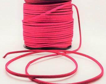 """1 meter """"buckskin"""" suede pink"""