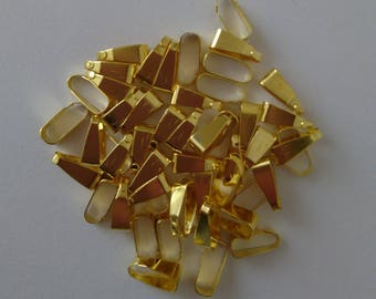 Gold clips clasps