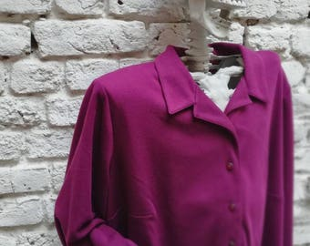 Jacket / Cardigan inspired shirt / Blouse vintage 90's