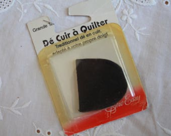 Leather of great new size special quilting