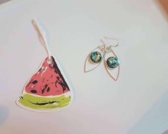 Black Gold Diamond earring