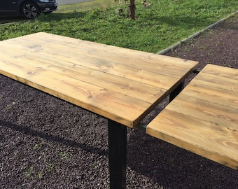 Dining table + extension chain