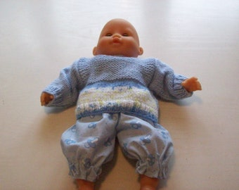 clothing for infants of 30 cm, tidoo hug (pants, bloomers, sweater)