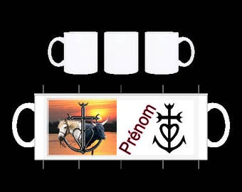 "Personalized MUG ""Camargue"""