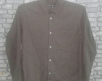 Rare comme des garcons button down shirt