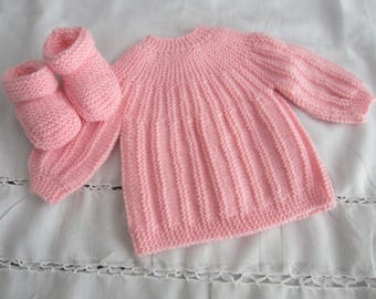 """Jacket and slippers """"rose"""" birth"""