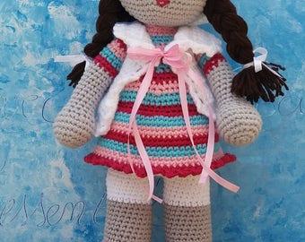 Doll 40 cm 100% cotton