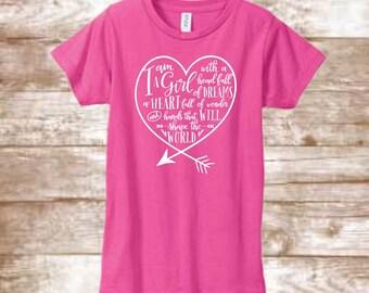 I Am A Girl Youth Shirt