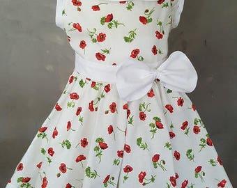 PETER PAN COLLAR DRESS. Very trendy. HAND MADE