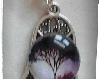 Pendant Hamsa with tree of life