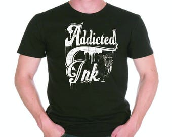 Ty shirt Addict tattoo Ink