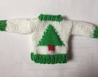 Handmade Elf on the Shelf Christmas jumper