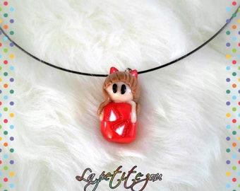 Fancy pendant necklace