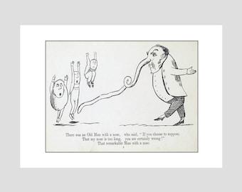 Edward Lear Print