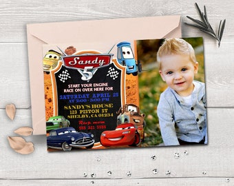 cars birthday invitation, cars invitation, cars  party, cars printable, cars card, cars birthday party, cars disney party,