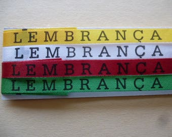 the Brazilian friendship bracelets good fim lucky set of 4 different colors