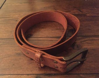 Men's Leather Belt 1.5""