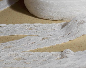 beautiful soft white lace 1 meter