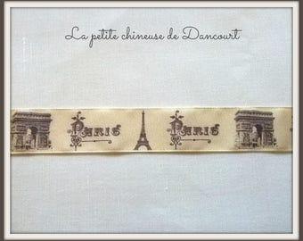 Retro Paris themed Ribbon