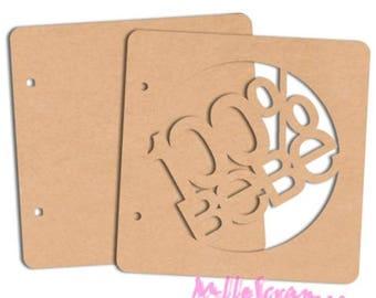 Album scrap 100% baby wooden blank scrapbooking card making *.