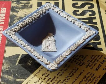 Wedgwood Blue & White Tray