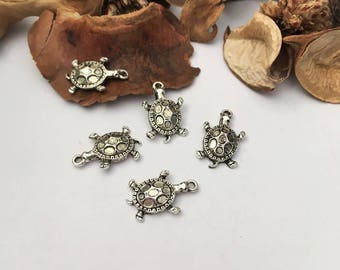 5 charm turtle shell Jewelry Accessories creations prints