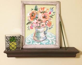 Home Decor/ Floral Still Life