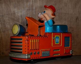 Yonezawa Original Battery Operated Tin Toy 1950's