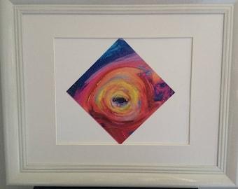 Diamond 'Eye Window' Print