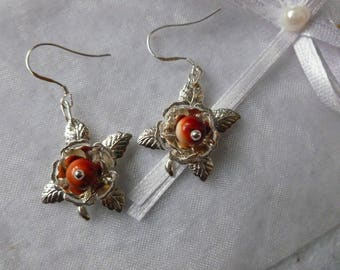 """""""Roses"""" earrings"""