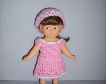 Dress and bonnet for mini Richard