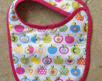 Bib birth sponge Apple collection