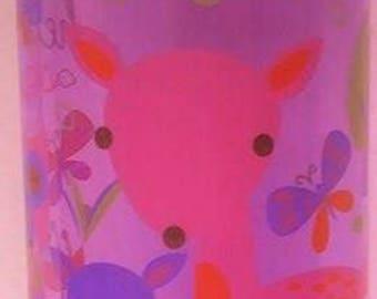 The Hedgehog Sipper (purple deer pattern)