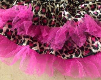 115 cm of satin ruffle tulle fabric