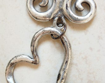 """Silver plated """"Heart"""" necklace"""