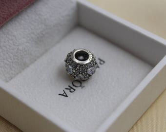 Authentic Pandora set Clear Hearts Cz Charm 791249CZ