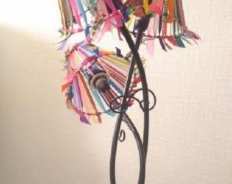 Multicolor Bohemian lamp, spirit, caravan, 3 lampshades