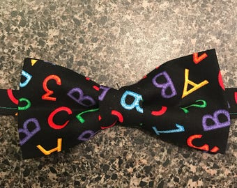 Back to School Bow Tie